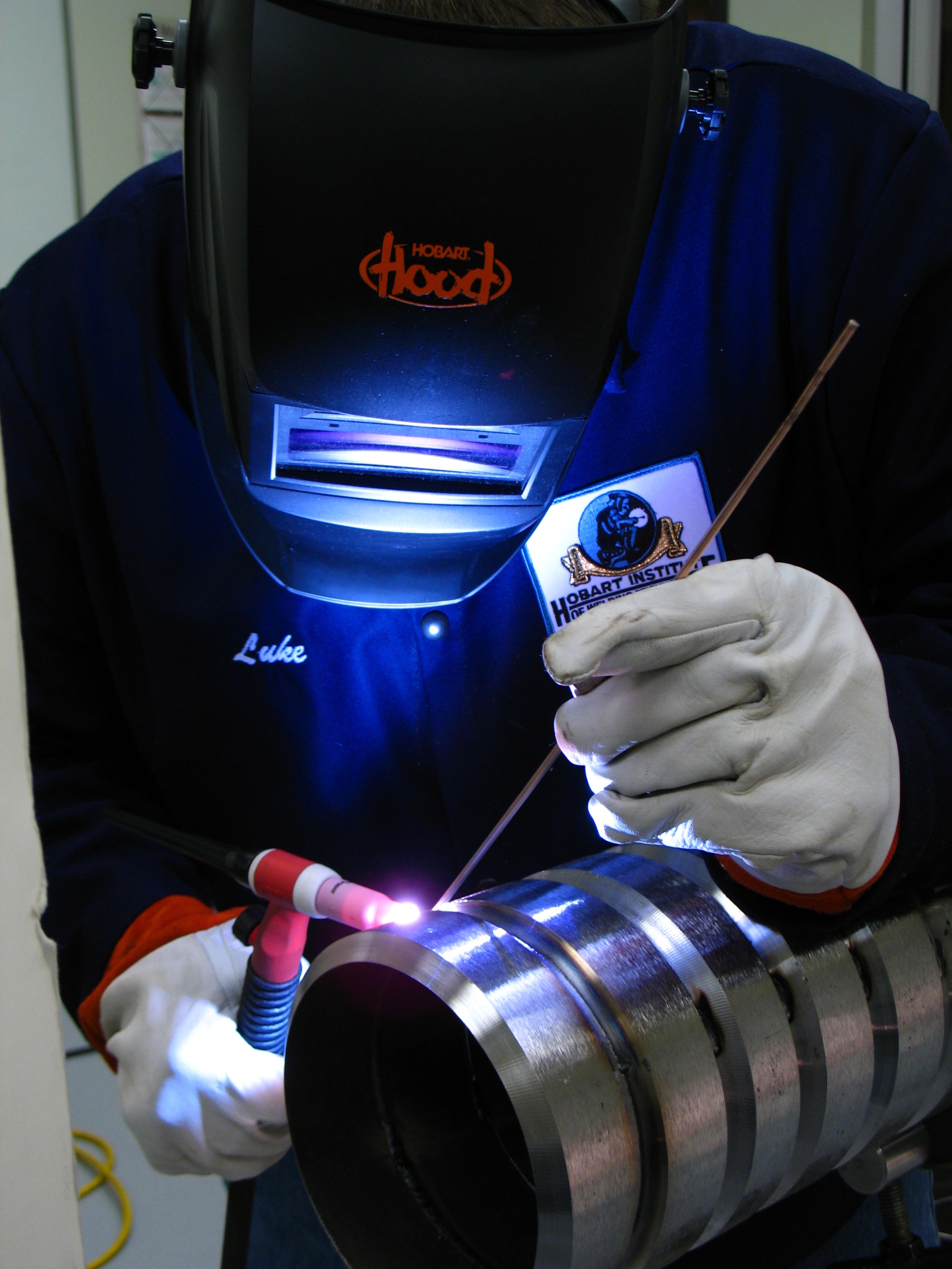 "Gas Tungsten Arc Welding 6"" Pipe - Hobart Institute of Welding ...: https://www.welding.org/product/gas-tungsten-arc-welding-6-pipe"