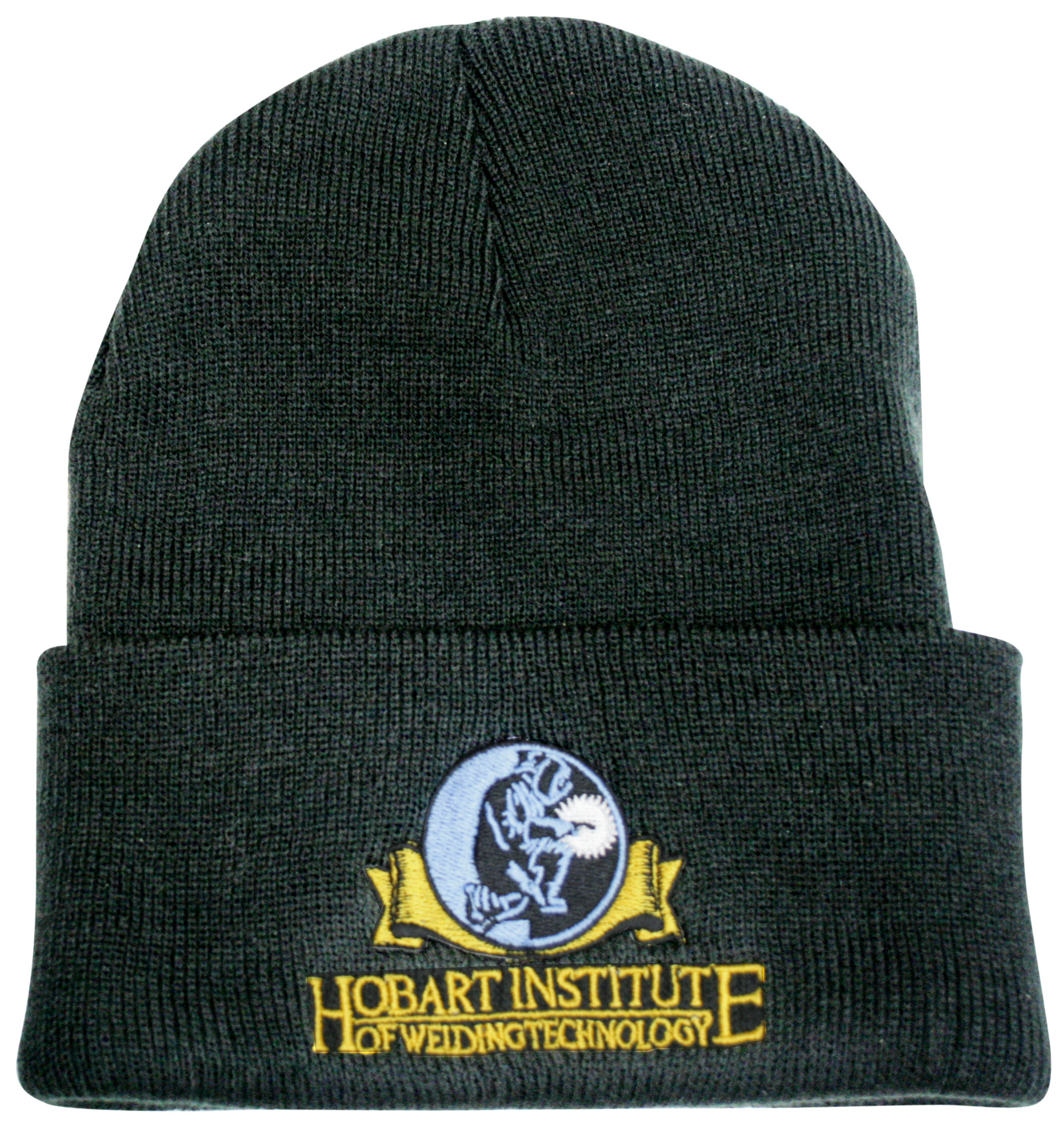 Waffle Beanie - Hobart Institute of Welding Technology c91e8cb9407