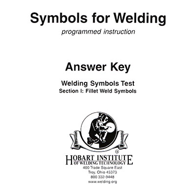 Symbols For Welding Test Keys Hobart Institute Of Welding Technology
