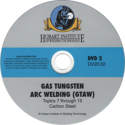 Gas Tungsten Arc Welding Basic, 2-inch Pipe, or 6-inch Pipe