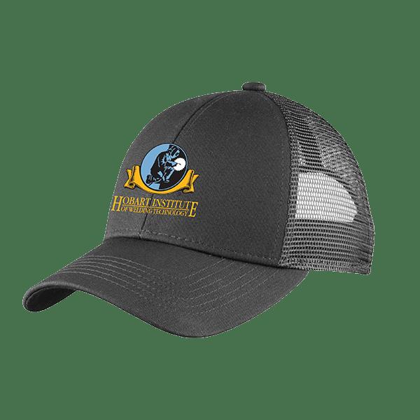Gray Adjustable Mesh Back Hat