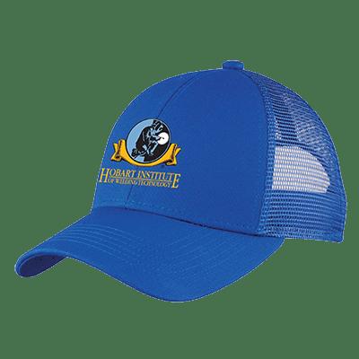 Front View - Royal Blue Adjustable Mesh Back Hat